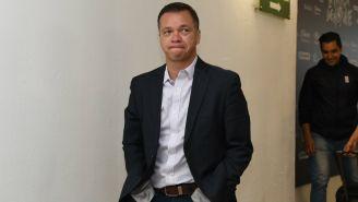 Mariano Varela, durante un partido de Chivas