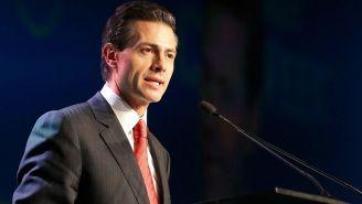 Enrique Peña Nieto durante un evento