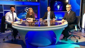 Eduardo Biscayart en la mesa de Fox Sports