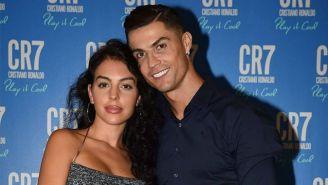 Cristiano Ronaldo y Georgina Rodríguez en un evento