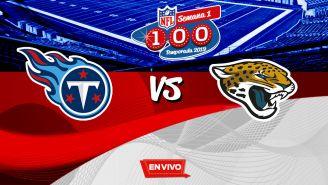 EN VIVO y EN DIRECTO: Titans vs Jaguars