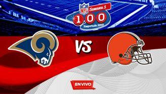 EN VIVO Y EN DIRECTO: Rams vs Browns