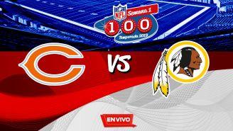 EN VIVO y EN DIRECTO: Chicago Bears vs Washington Redskins