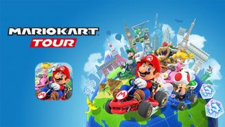 La imagen de Mario Kart Tour