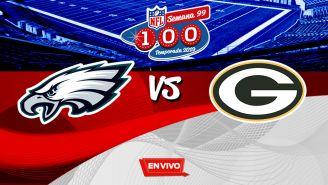 EN VIVO Y EN DIRECTO: Eagles vs Packers