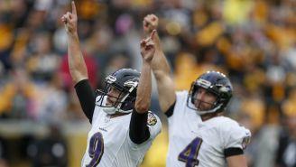 Tucker marca el Gol de Campo del triunfo de los Ravens