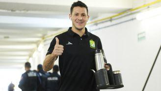 Ramiro González previo a un partido con León