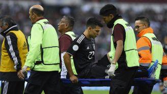 Chucky Lozano abandona el partido vs Panamá lesionado