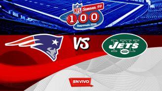 EN VIVO Y EN DIRECTO: Patriots vs NY Jets
