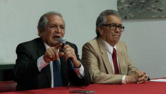 José Luis González y Juan Pablo Badillo en conferencia de prensa