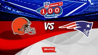 EN VIVO Y EN DIRECTO: Browns vs Patriots
