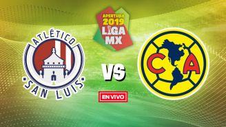EN VIVO Y EN DIRECTO: Atlético de San Luis vs América