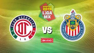 EN VIVO y EN DIRECTO: Toluca vs Chivas