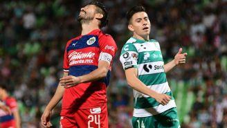 Oribe se lamentó durante partido ante Santos