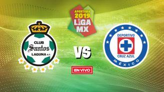 EN VIVO y EN DIRECTO: Santos vs Cruz Azul