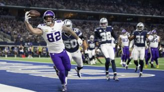 Vikings vs Cowboys en partido de la NFL