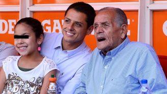 Chicharito y Tomás Balcázar en 2014