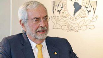 Enrique Graue, durante una entrevista