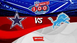 EN VIVO Y EN DIRECTO: Cowboys vs Lions
