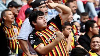 Afición de Leones Negros en partido del Ascenso MX