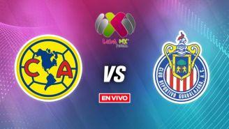 EN VIVO Y EN DIRECTO: América vs Chivas CF Vuelta Liga MX Femenil