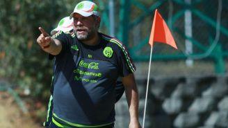 Ramón Raya, en un entrenamiento