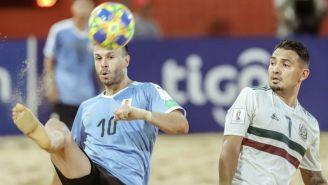 Capurro y Maldonado, durante el partido
