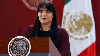 Alexa Moreno tras recibir el Premio Nacional del Deporte