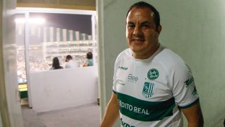 Cuauhtémoc Blanco, con la camiseta del Zacatepec