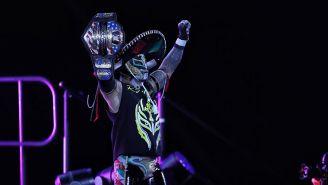 Rey Mysterio en la función de WWE en México