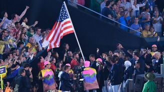 Delegación de EU en el desfile inaugural de Río 2016