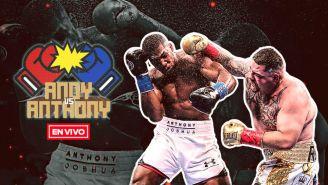 EN VIVO Y EN DIRECTO: Anthony Joshua vs Andy Ruiz
