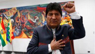 Evo Morales en el Tribunal de Justicia Boliviano