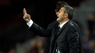 Valverde dirige las acciones de sus pupilos