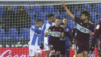 Néstor Araujo anotó gol en derrota de Celta de Vigo ante el Leganés de Aguirre