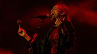 Rúben Albarrán en concierto de Café Tacuba