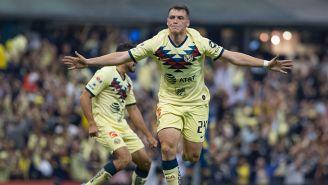 Viñas hizo el gol que clasificó al América a la Final