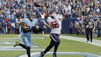 Texans vs Titans en partido de la NFL