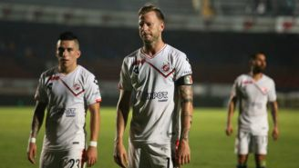 Cristian Menéndez tras perder un juego con el Veracruz