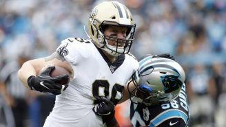Saints vs Panthers en partido de la NFL
