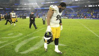 Isaiah Buggs, de Steelers, lamenta la derrota de Pittsburgh