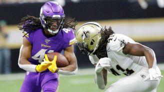 Vikings vs Saints en juego de la NFL