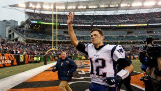 Tom Brady tras un partido disputado en Cincinnati