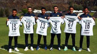 Pumas presentó a sus refuerzos para el Clausura 2020