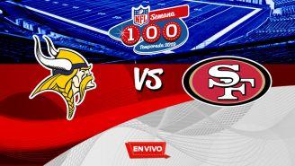 EN VIVO Y EN DIRECTO: Vikings vs 49ers
