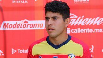 Carlos Vargas como jugador de Monarcas Morelia