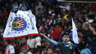 Chivas, con mayoría de aficionados en el juego ante Pachuca