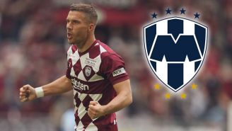 Lukas Podolski podría llegar a Rayados