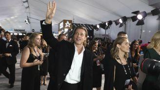 Brad Pitt durante la alfombra roja de los SAG Awards