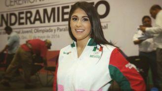 Paola Pliego cuando competía para México